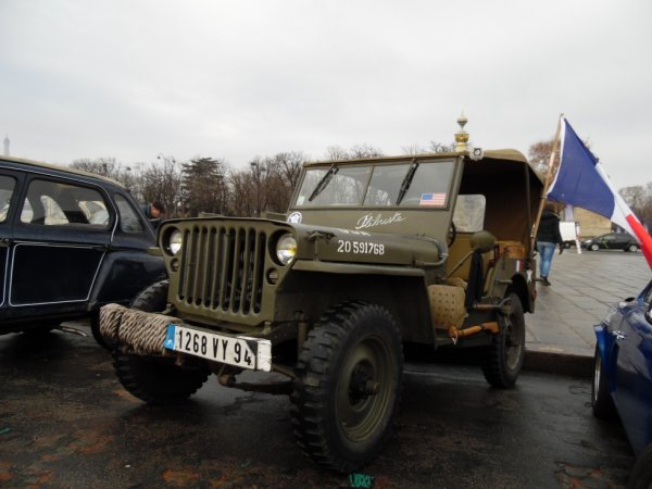 JEEP WILLYS MILITAIRE (1941-1945)