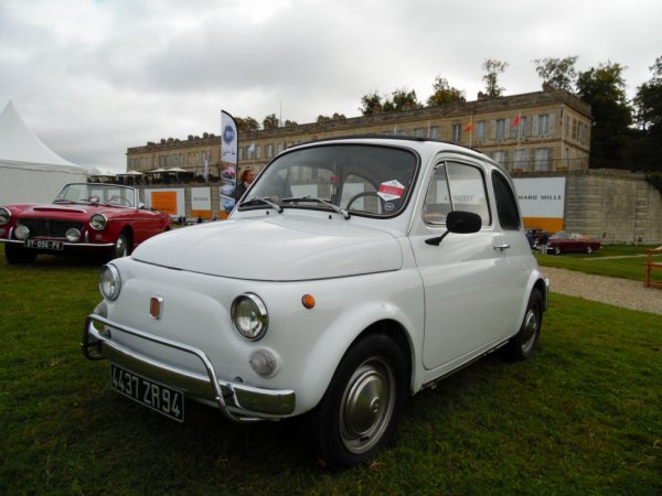 FIAT 500 (1957-1975) CHANTILLY ARTS & ÉLÉGANCE RICHARD MILLE