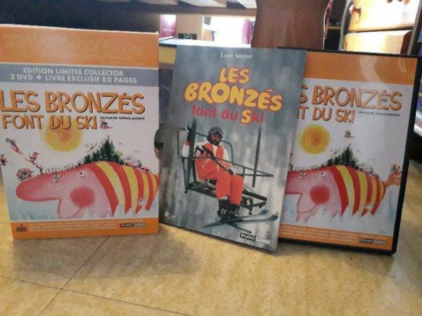 LES BRONZES FONT DU SKI EDITION LIMITÉE COLLECTOR 2 DVD PLUS LIVRE EXCLUSIF DÉGOTE HIER EN BROCANTE