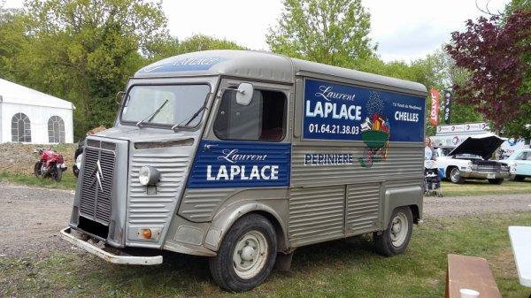 CITROËN TYPE H (1948-1981) L'EXPOMOBILE A JARDINERIE LAPLACE (2018)