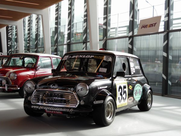 MINI VAN GB (1981) RETROMOBILE 2019 (PARIS)