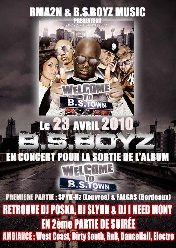 """Album """"Welcome 2 BSTown"""" disponible sur BSBOYZINDUSTRY.COM ! Cours vite l'acheter !"""