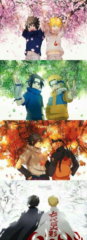 Une amitié au fil des saisons ~ Naruto