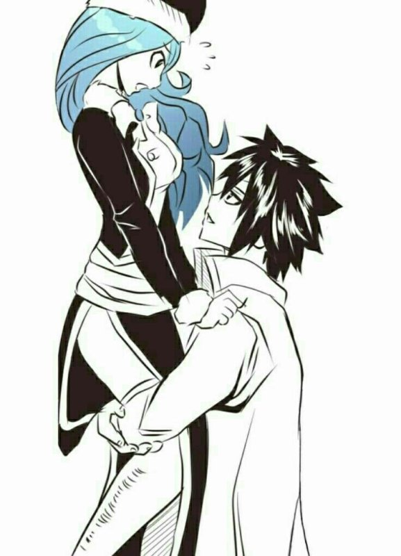Fairy Tail / Couple : Gray + Jubia