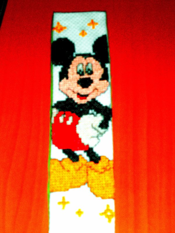 Marque pages Mickey