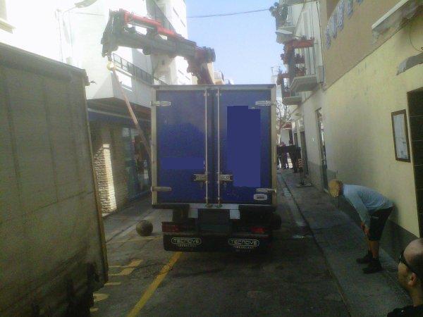 RESCATE EN EL CENTRO DE SITGES......
