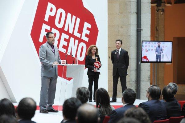"""PREMIO PERSONAJE """"PONLE FRENO 2011"""""""
