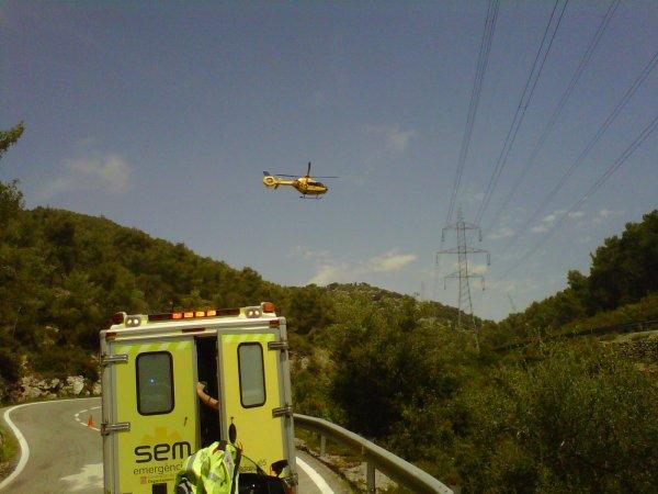 ACCIDENT GREU A AVINYONET DEL PENEDES 13-05-2012