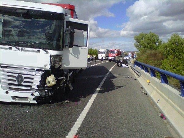 ACCIDENT MORTAL A N-340 KM 1206 EL 17-10-2012