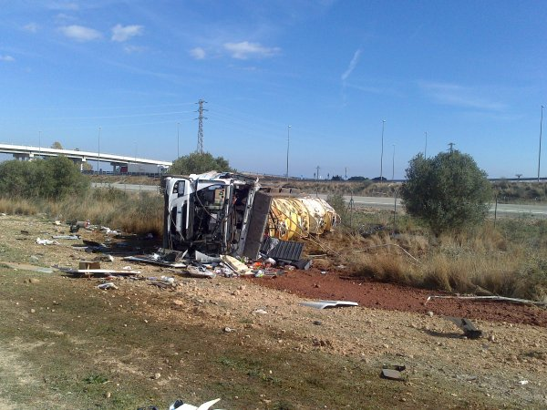 ACCIDENT A.D.R. AP7- MONT-ROIG DEL CAMP     15-02-2013