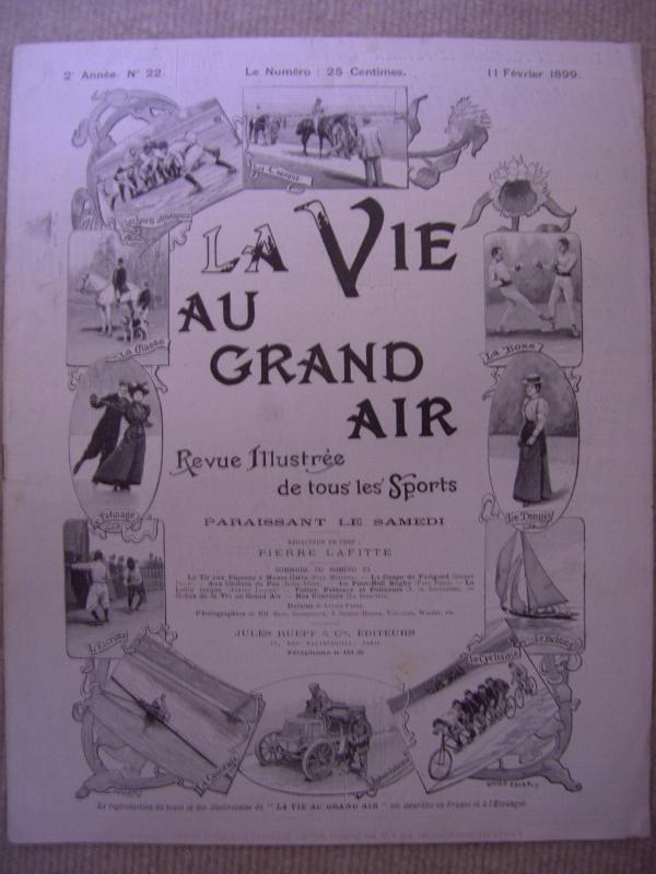 La Vie au Grand Air (PAS EN VENTE)