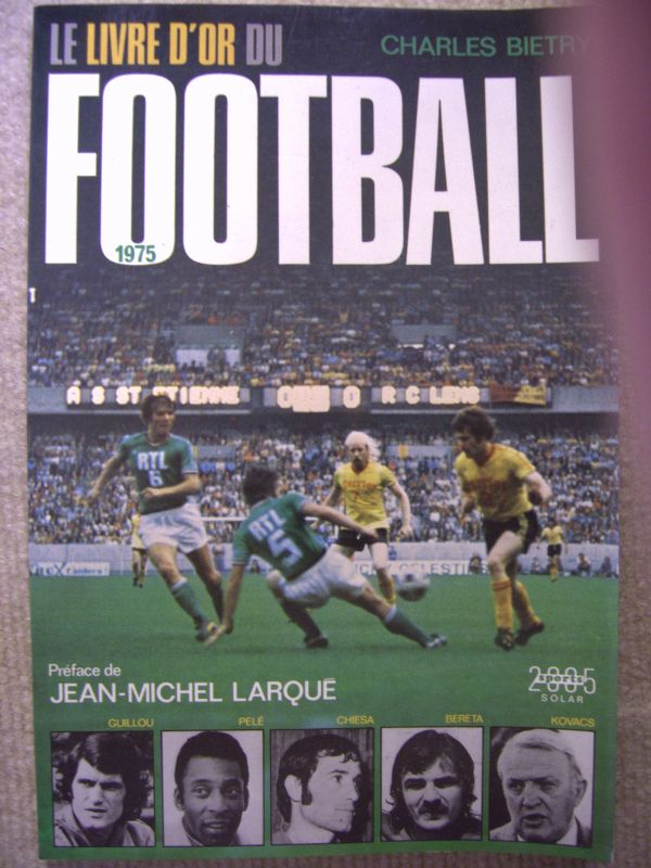 Livre d'Or Football (1975 à 2000)