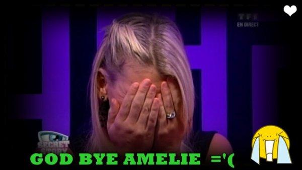AMELIE QUITTE LA MAISON DES SECRET !!!!!!