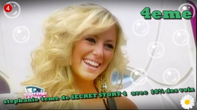CLASSEMENT FINAL DE SECRET STORY 4 !!!!!!!!!!