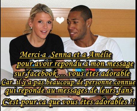 Senna et Amélie les meilleur !!!!!