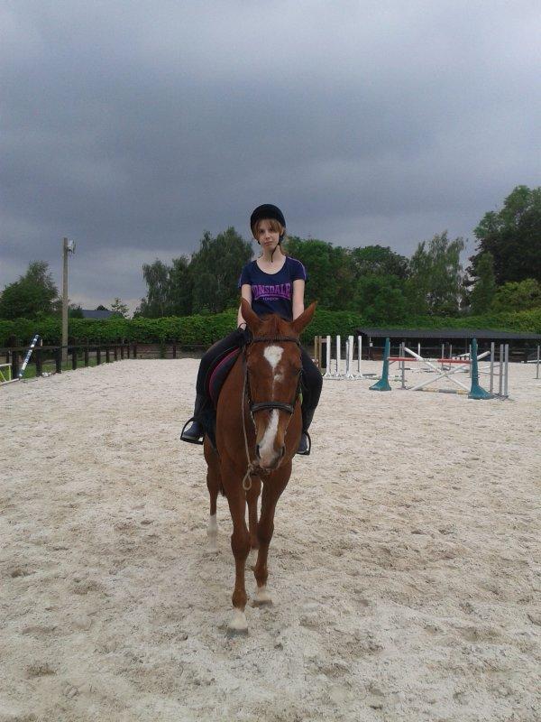 Quelques photos de moi et Phébus :)