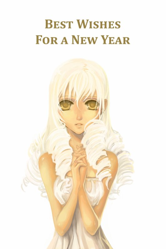 HAPPY NEW YEAR **** AKEMASHITE O M E D E TO <3