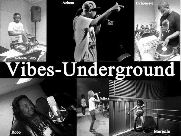 Vibes Underground sur facebook