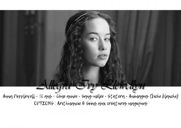 Allegra Ivy Llewellyn