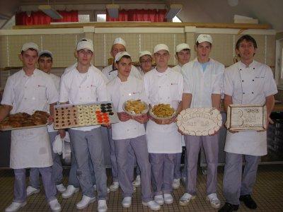 """Remise des """"diplomes """" aux BP boulangers"""