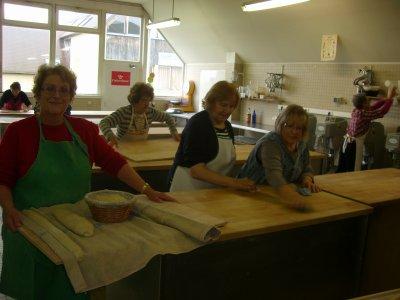 """Stage """"pain"""" pour l'université ouverte de franche-comté .............."""