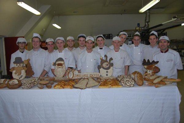 Journée de pratique des BP boulangers 1ère année....