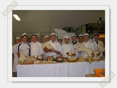 Journée de pratique avec les BP boulanger vendredi 10/12