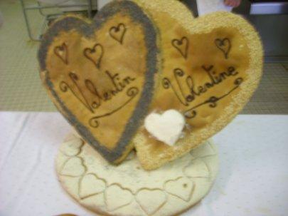 Journée de travail des BP boul pour la saint Valentin ....