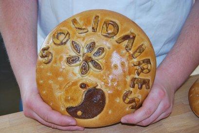 Le travail des CAP boulangers avec Arnaud GIRARD , leur professeur