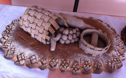 Concours de pains décorés à Dijon par les Talmeliers du bon pain