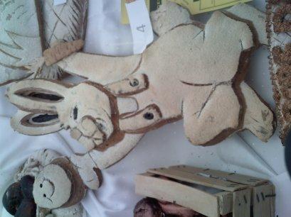 Concours de pain décorés de Saint Loup par les MC boulangers (thème : Les animaux de la ferme)