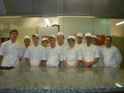 Dernière journée de pratique avec les CAP boulanger A2