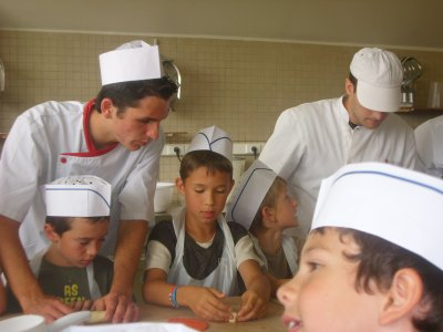 Journée de pratique avec les BP boulanger vendredi 10/06