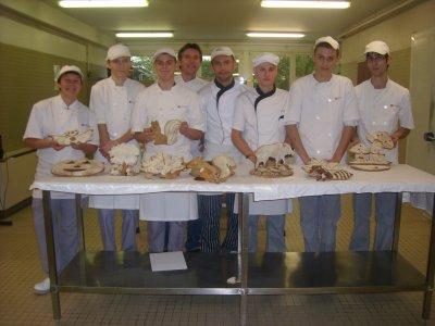 Première journée de pratique avec les BP 1ère année (pain party)