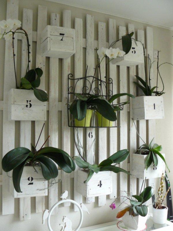 Porte plante en bois blog de peintureetbois - Porte plante en bois ...