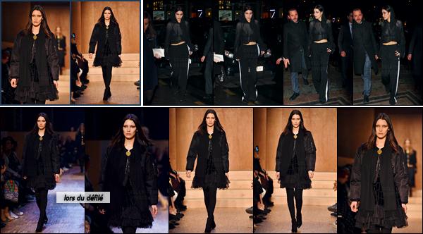 06/03/16 - Bella Hadid défilait sur le cat-walk pour la marque « Givenchy AW16 » - à la fashion-week de Paris ![/s#00000ize]Toujours dotée d'un très grand professionnalisme, notre américaine défilait avec l'une des nouvelles tenues de la marque qui privilégie le noir. Des avis ? [/alig fen]