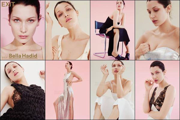 Découvrez le nouveau photoshoot de « Exit Magazine Issue 32 » avec Bella !