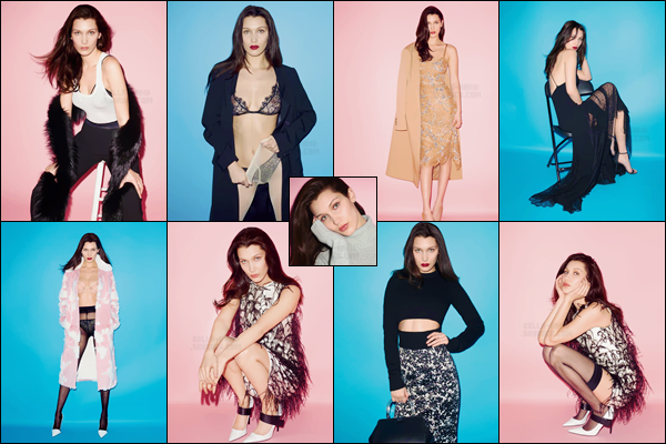 Découvrez le nouveau photoshoot de « W Magazine Korea » avec Bella Hadid
