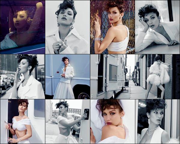 Découvrez le nouveau photoshoot pour « Vogue Turquie » avec Bella Hadid !