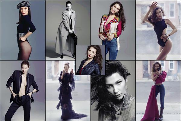 Découvrez le nouveau photoshoot pour « ELLE Magazine » avec Bella Hadid !