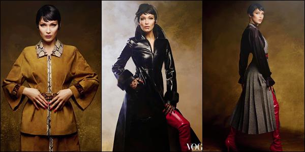 - VOGUE ▬ La belle Bella Hadid pour l'édition du magazine « Vogue Arabia » pour septembre !-
