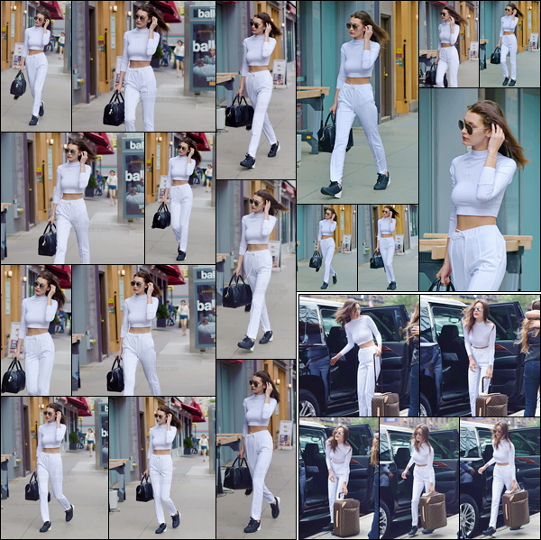 - 01/07/16 ─ Miss Bella Hadid a été photographiée alors qu'elle arrivait à l'aéroport de « JFK » à New-York !La jeune mannequin a pris un envol pour Paris pour la Fashion-Week. Concernant la tenue de B., j'aime beaucoup c'est un top de ma part, et vous ?!-