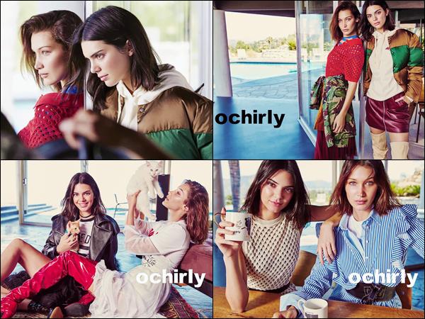 - Découvrez la campagne de 2017 pour « Orchily » avec Bella et Kendall Jenner !-