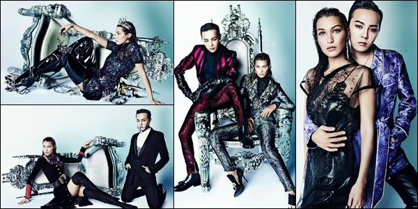 Découvrez le photoshoot pour « Vogue China » avec le chanteur G-Dragon !