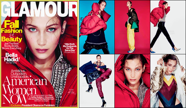 Bella H. fera la couverture de « Glamour » du mois de septembre prochain !