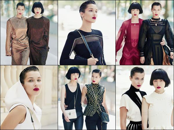 - Découvrez Bella Hadid pour « Vogue China » et son édition de septembre 2017 !-