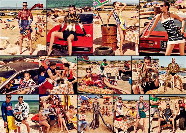 - ─'Découvrez le splendide photoshoot pour le magazine « Vogue Japan » pour l'édition de novembre 2016 ! [/s#00000ize]Alors que Bella Hadid est à l'heure actuelle au Japon avec son copain, découvrez le photoshoot riche en couleurs de l'édition Vogue de ce pays oriental.'  -