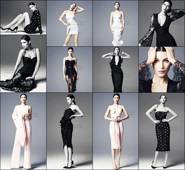 - ─'Découvrez le nouveau photoshoot nommé « Gold by Misha » pour la collection Misha de 2016 et 2017 ! [/s#00000ize]Dans un shoot assez simpliste, Bella Hadid prend la pose pour la marque de vêtements Misha, où elle porte de diverses tenues très sobres ... Vos avis ?'  -