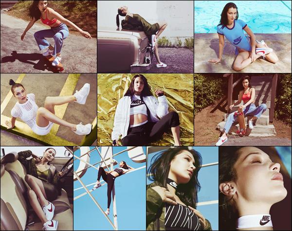 - Découvrez le shoot pour la marque « Nike Cortez » dont Bella H. est le visage !-