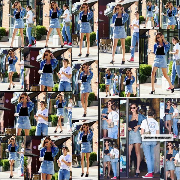 - ''20.06.17'-''─''B. Hadid quittait le restaurant de cuisine italienne « Via Alloro » avec ses amies à Beverly Hills[/s#00000ize]Au court de la journée, Bella Hadid et ses amies se sont promenées dans Los Angeles, et ont ensuite fait un arrêt au magasin de yaourt glacé Go Greek ! -